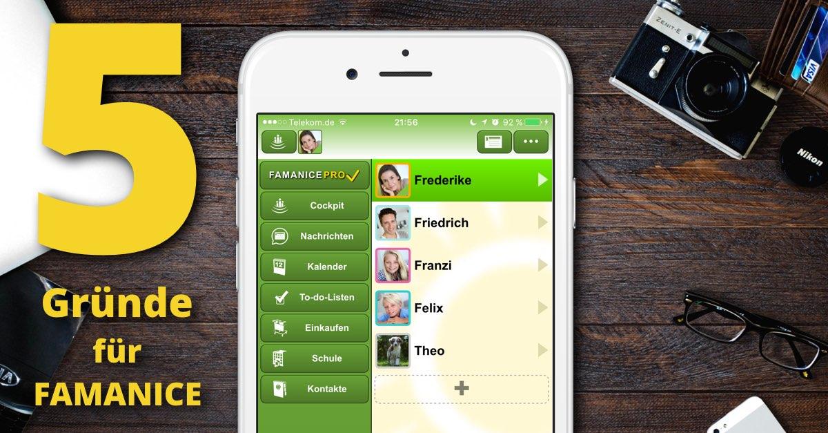 Gründe für unsere Familien-App