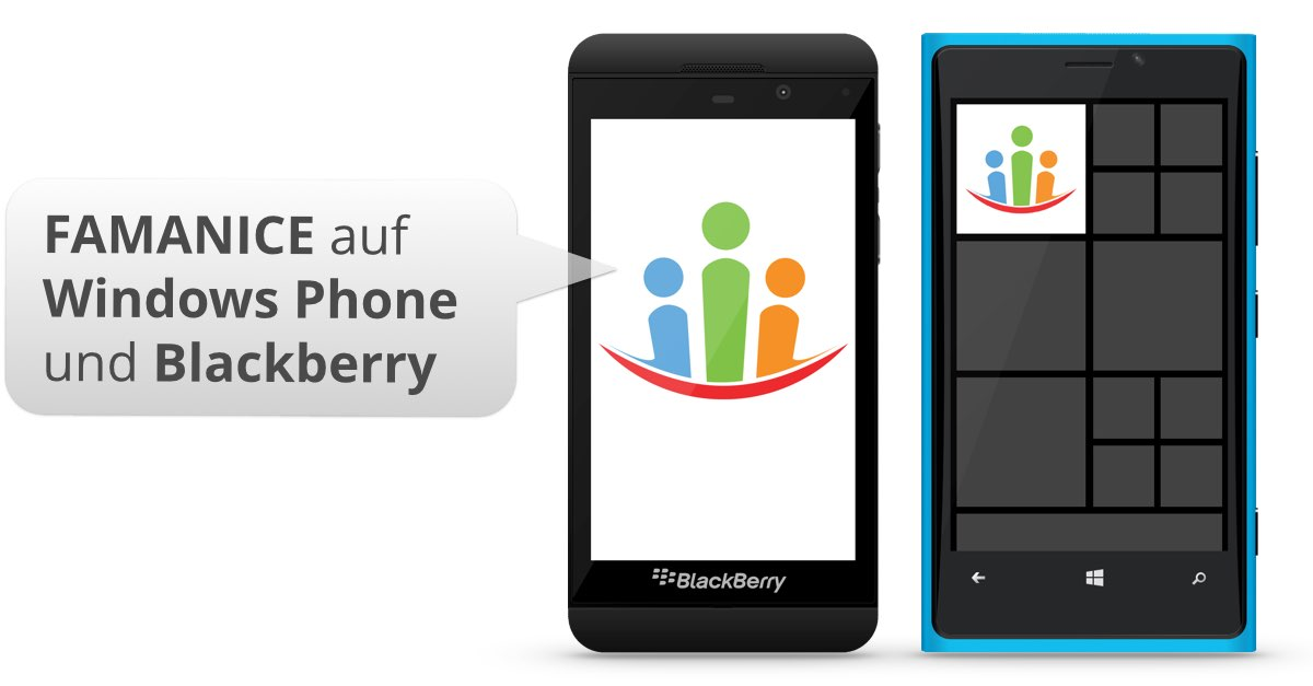 Windows Phone 10 & 8 und Blackberry
