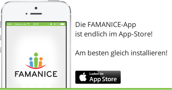 iPhone iPad App Familie