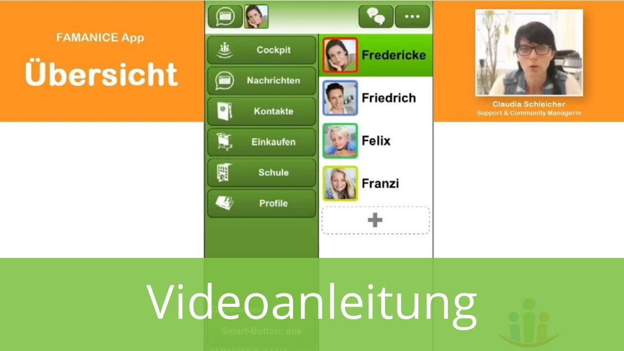Funktionsübersicht iPhone App Android App