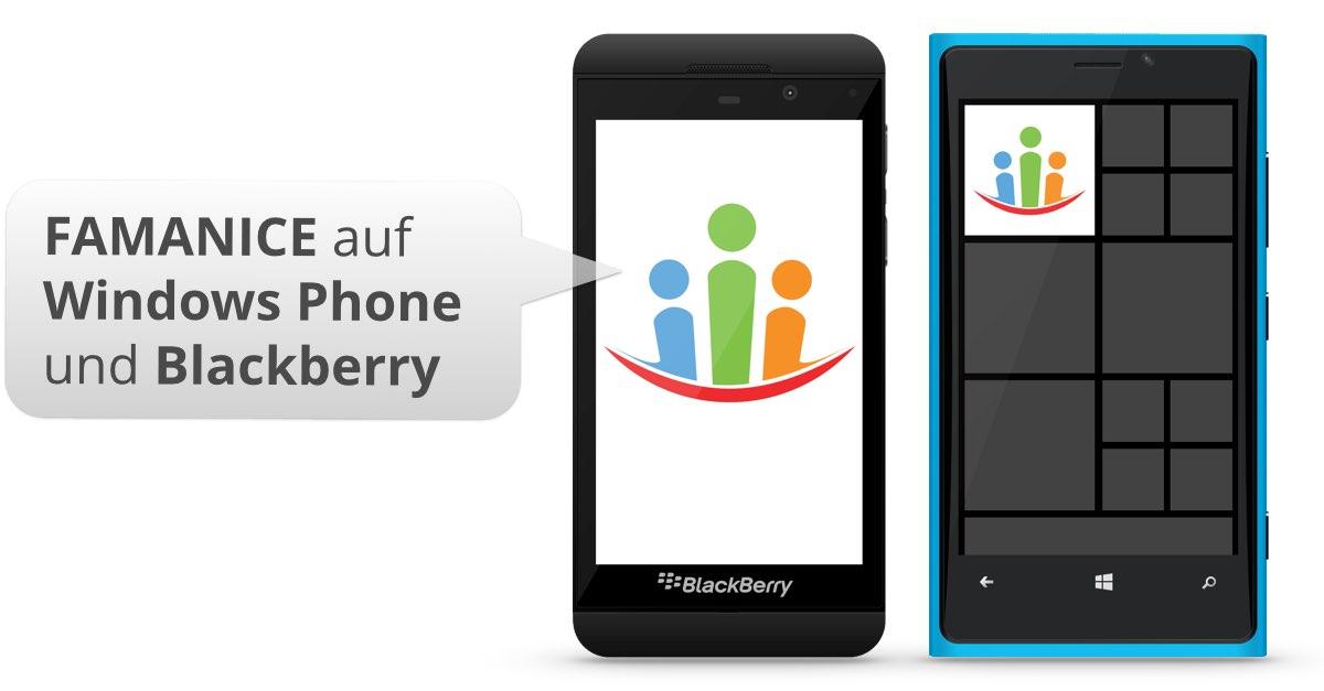 Windows Phone 10 & 8 und Blackberry